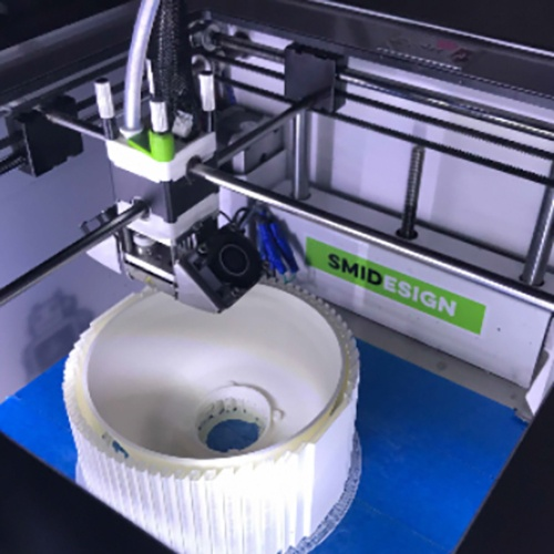 In house 3D printing facilities