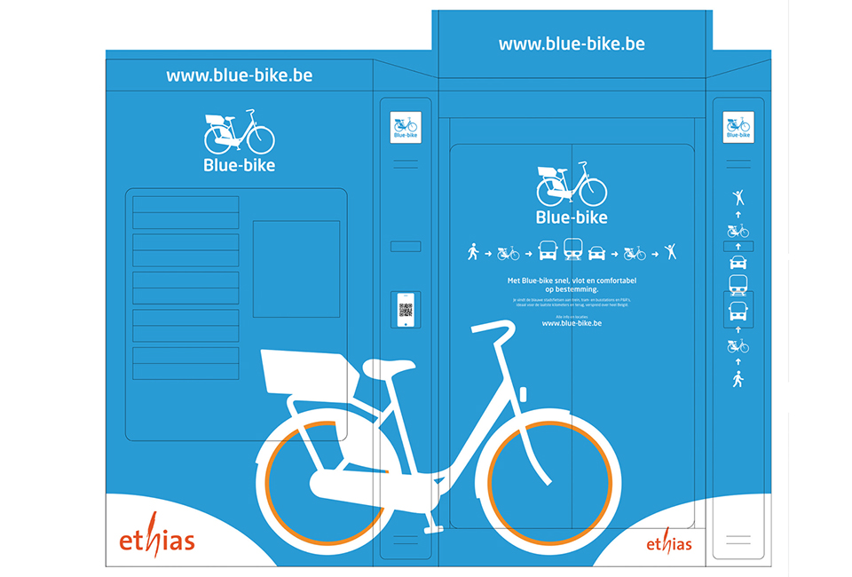 Bluebike Graphics by Stijn Wens