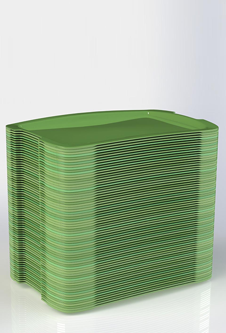 Groene productvisual voor klant