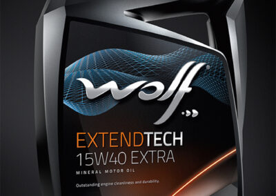 Wolf Lubricant Bottle